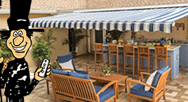 Patio covers, retractable patio awnings from Sunsetter Awnings. Enjoy the outdoors longer!