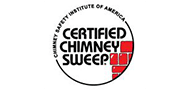 Luce's Chimney and Stove Shop is a certified chimney sweep, by the Chimney Safety Institute of America, CSIA.