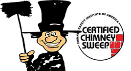 Chimney sweeping, certified chimney cleaning by Luce's Chimney & Stove Shop, serving Ohio, Michigan and Indiana.