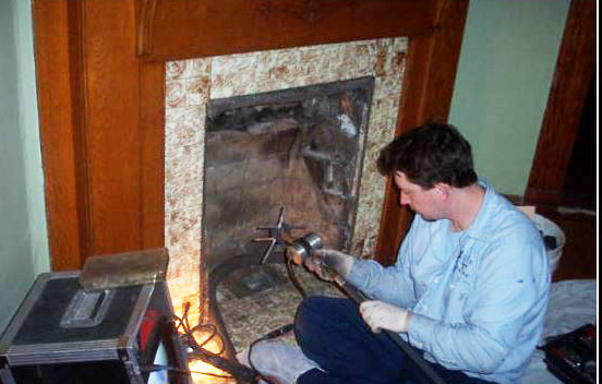 Level 2 chimney inspection performed by Luce's Chimney & Stove Shop, serving areas of Ohio, Michigan and Indiana.