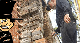 Chimney repair and masonry chimney restorations and repair by Luce's Chimney and Stove Shop in Swanton Ohio.