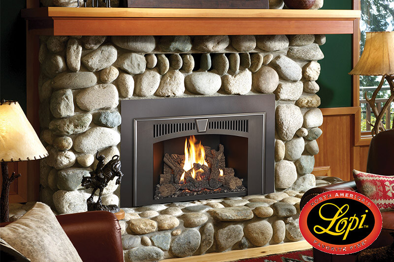 Fireplace Inserts Gas Sales & Install | Luce's Chimney & Stove Shop