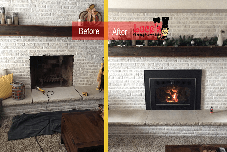 Marvelous Fireplace Update Before Afters Luces Chimney Stove Shop Home Interior And Landscaping Sapresignezvosmurscom