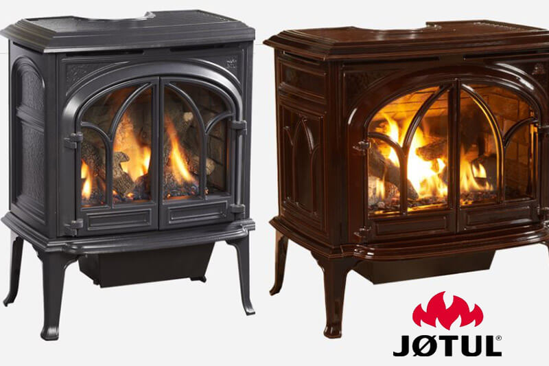 Jotul gas stoves sales and installation available at Luce's Chimney and Stove Shop, serving Ohio, Michigan and Indiana.