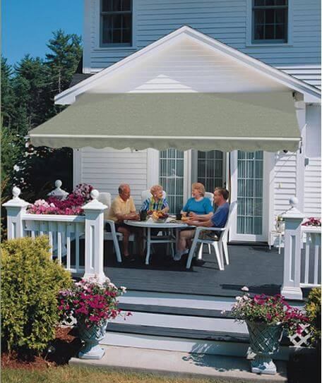 Sunsetter Retractable Awnings Authorized Sales Installers At Luces Chimney And Stove Shop In Swanton