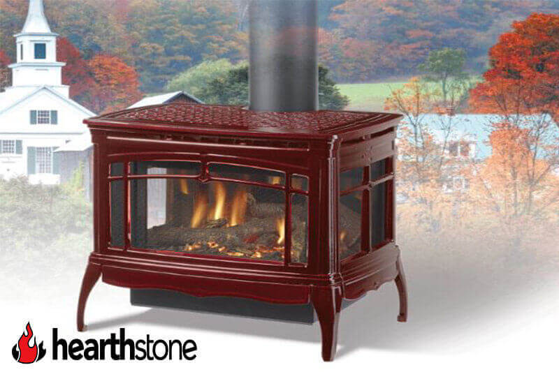 Hearthstone wood burning stoves from Luce's Chimney & Stove Shop, featuring sales and installation for Ohio, Michigan and Indiana areas.