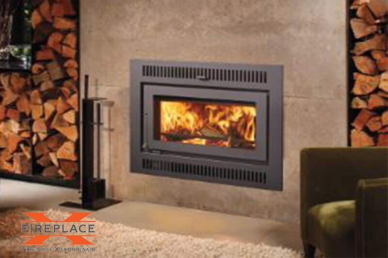 Wood fireplaces and wood inserts from top band Fireplace Xtrordinair, available at Luce's Chimney and Stove Shop, serving Ohio, Michigan and Indiana.